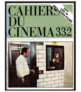 Cahiers du cinéma N°332 - Février 1982 - Magazine français avec Ornella Muti