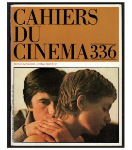 Cahiers du cinéma N°336 - Mai 1982 - Magazine français avec Isabelle Huppert
