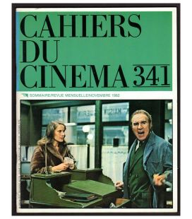 Cahiers du cinema Magazine N°341 - November 1982 with Michel Piccoli