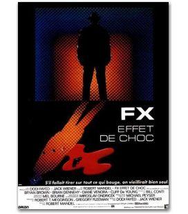 "FX effet de choc - 47"" x 63"""