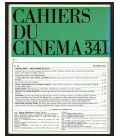 Cahiers du cinéma N°341 - Novembre 1982 - Magazine français avec Michel Piccoli
