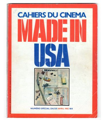 Cahiers du cinema Magazine N°334 - April 1982