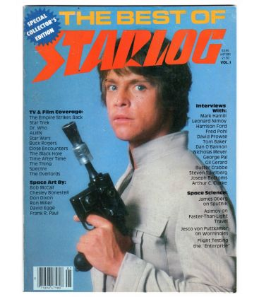 The Best Of Starlog Magazine N°1 - 1980 with Mark Hamill