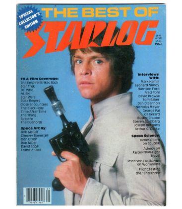 The Best Of Starlog N°1 - 1980 - Ancien magazine américain avec Mark Hamill