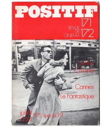 Positif N°171 - Juillet 1975 - Magazine français