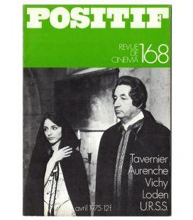 Positif N°168 - Avril 1975 - Magazine français avec Philippe Noiret