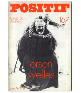 Positif Magazine N°167 - March 1975 with Orson Welles
