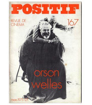 Positif N°167 - Mars 1975 - Magazine français avec Orson Welles