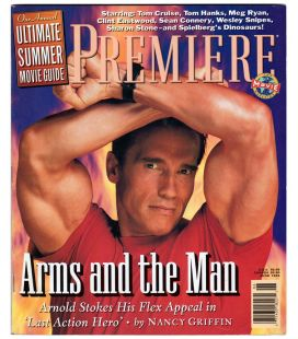 Première US Magazine - June 1993 with Arnold Schwarzenegger