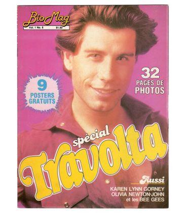 Bio Mag - 1977 - Magazine québécois avec John Travolta