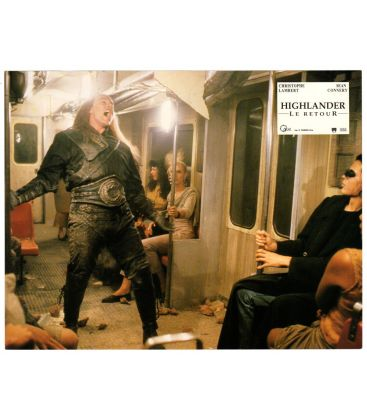 "Highlander le retour - Photo 11"" x 8.5"" avec Michael Ironside"
