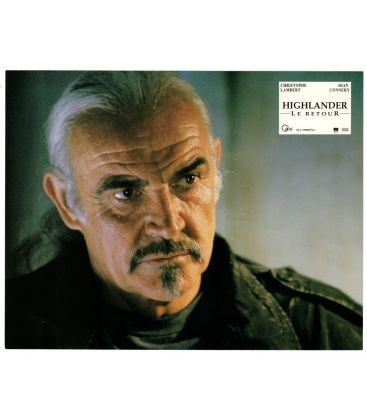 "Highlander le retour - Photo 11"" x 8.5"" avec Sean Connery"