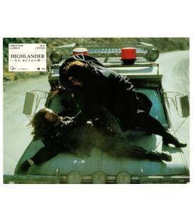"Highlander le retour - Photo 11"" x 8.5"" avec Christophe Lambert"