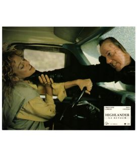 "Highlander le retour - Photo 11"" x 8.5"" avec Michael Ironside et Virginia Madsen"