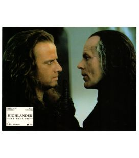 "Highlander le retour - Photo 11"" x 8.5"" avec Christophe Lambert et Michael Ironside"