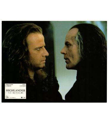 "Highlander II: The Quickening - Photo 11"" x 8.5"" with Christophe Lambert and Michael Ironside"