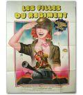 """Les Filles du régiment - 47"""" x 63"""""""