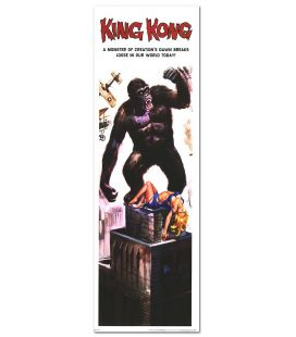 "King Kong - 12"" x 36"" - US Poster"