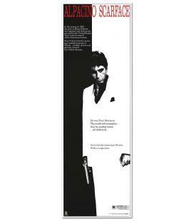 "Scarface - 12"" x 36"" - Affiche américaine"