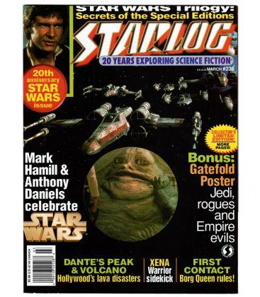Starlog Magazine N°236 - March 1997 with Star Wars