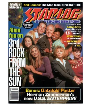 Starlog Magazine N°235 - February 1997 with John Lithgow