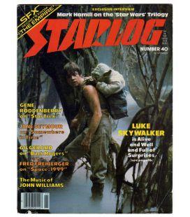 Starlog Magazine N°40 - November 1980 with Star Wars