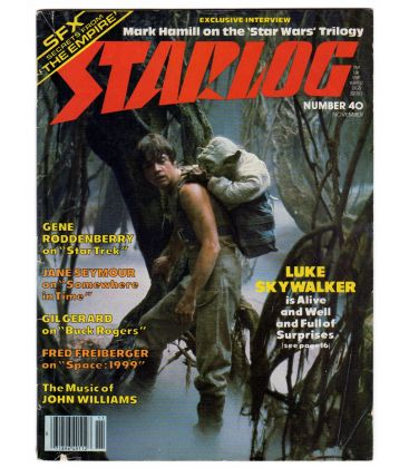 Starlog Magazine N°40 - November 1980 with Star Wars