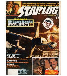 Starlog Magazine N°80 - March 1984 with Star Wars
