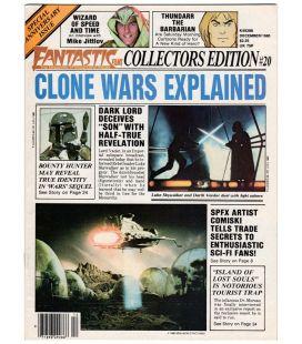 Fantastic Films N°20 - Décembre 1980 - Magazine américain avec Star Wars