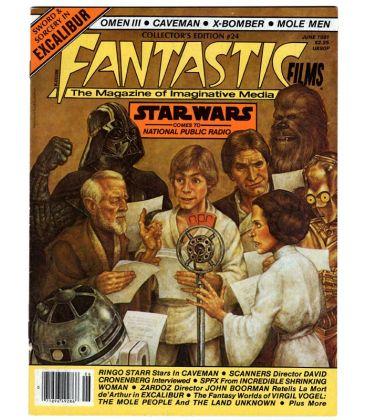 Fantastic Films Magazine N°24 - June 1981 - American Magazine with Star Wars