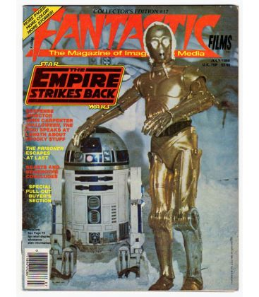 Fantastic Films Magazine N°17 - July 1980 - American Magazine with Star Wars
