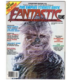 Fantastic Films Magazine N°18 - September 1980 - American Magazine with Star Wars