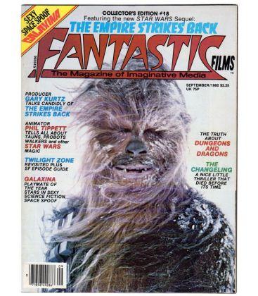 Fantastic Films N°18 - Septembre 1980 - Magazine américain avec Star Wars