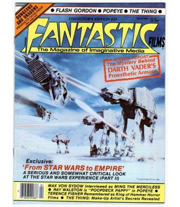 Fantastic Films Magazine N°23 - April 1981 - American Magazine with Star Wars