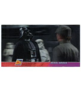 Star Wars 3 Di - Promo Card 1