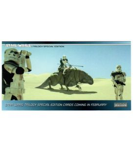 Star Wars Trilogy Special Edition - Carte promo P1