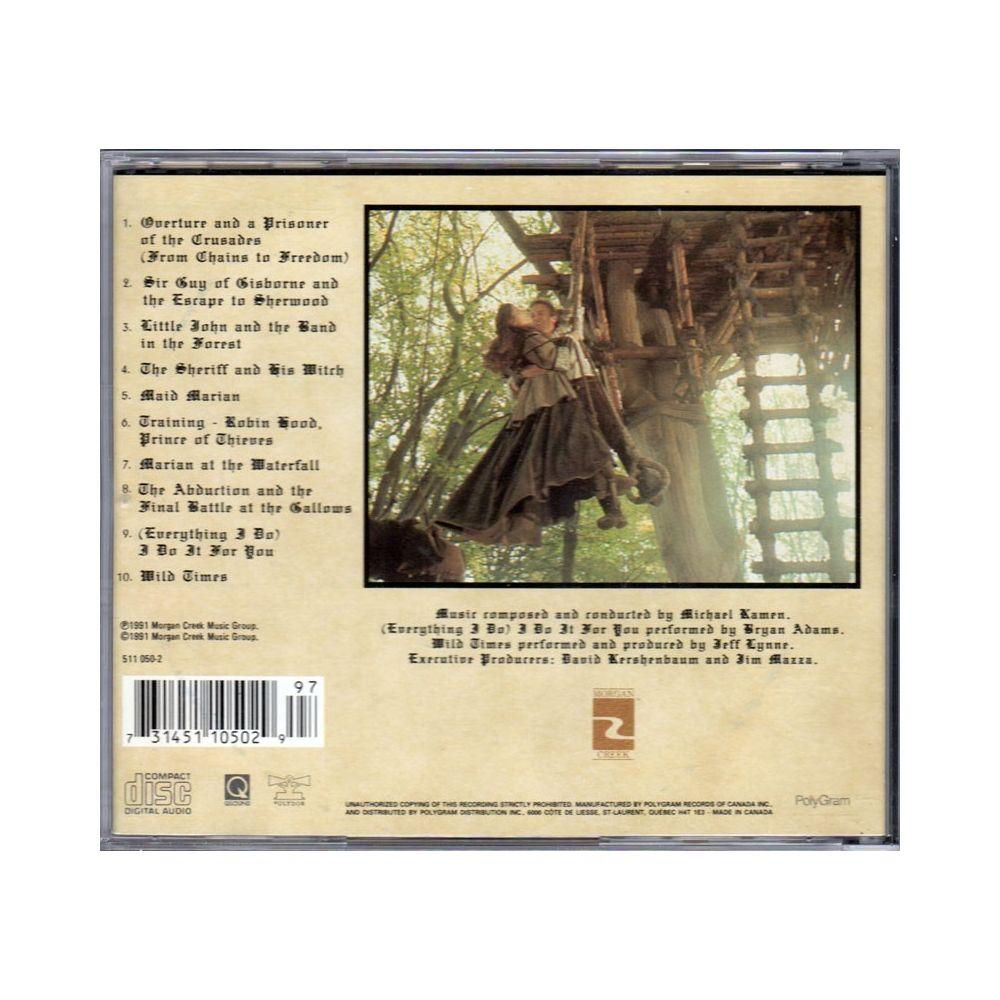 Accueil > Musique > Robin des bois  Prince des voleurs  Trame sonore