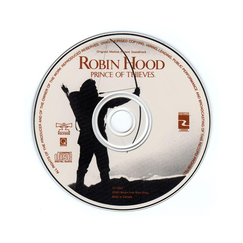 Robin des bois Prince des voleurs Trame sonore CD Cinéma Passion # Musique Robin Des Bois