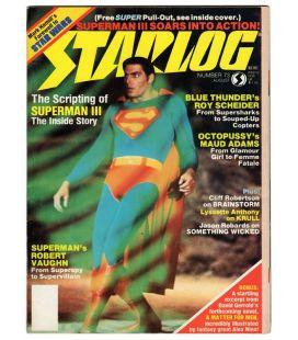 Starlog N°73 - Août 1983 - Ancien magazine américain avec Superman