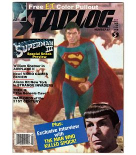 Starlog Magazine N°67 - February 1983 with Superman