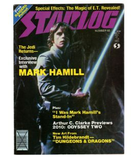 Starlog Magazine N°65 - December 1982 with Star Wars