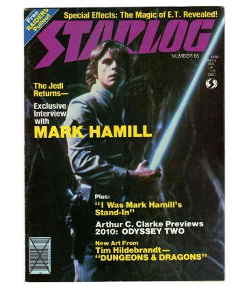 Starlog Magazine N°65 - December 1982 with Star Wars