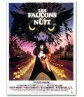 """Les Faucons de la nuit - 47"""" x 63"""" - Ancienne grande affiche originale française"""