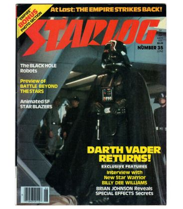 Starlog Magazine N°35 - June 1980 with Darth Vader