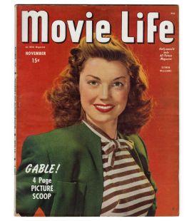 Movie Life - Novembre 1945 - Magazine américain avec Esther Williams