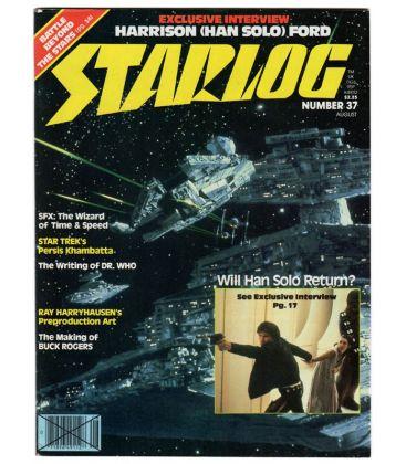 Starlog Magazine N°37 - August 1980 with Star Wars