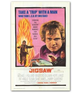 "Jigsaw - 27"" x 40"" - Vintage Original US Poster"