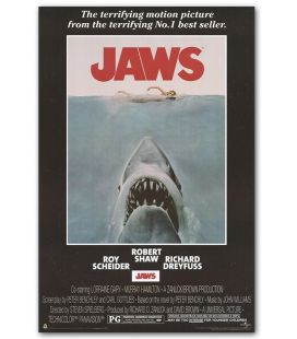 "Jaws - 24"" x 36"" - US Poster"