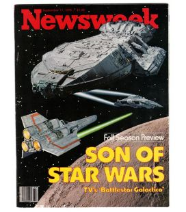 Newsweek Magazine - September 11, 1978 with Battlestar Galactica