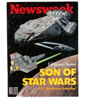 Newsweek - 11 Septembre 1978 - Ancien magazine américain avec Battlestar Galactica